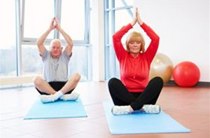 Yoga Helps Posture in Seniors